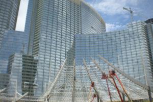 Shanghai Tower and City Center Las Vegas