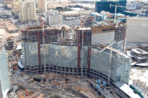 Shanghai Tower and City Center Las Vegas Construction