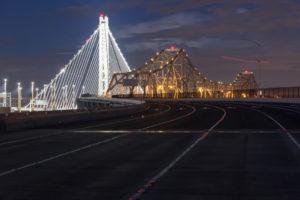 San Francisco Oakland Bay Bridge Completed