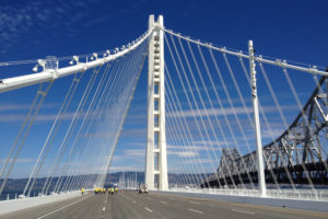 San Francisco Oakland Bay Bridge Entrance