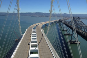 San Francisco Oakland Bay Bridge Roadway